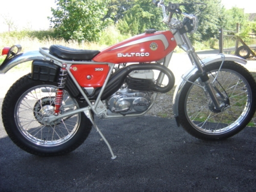 bultaco sherpa 1975