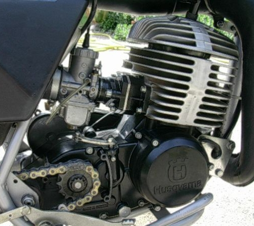 husqvarna moteur 430 wr 1982