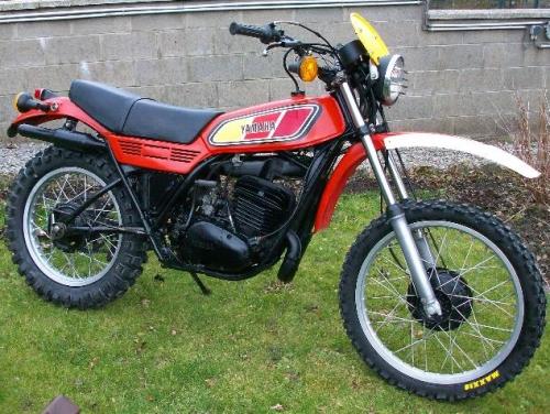 yamaha 250 dt mx 1977
