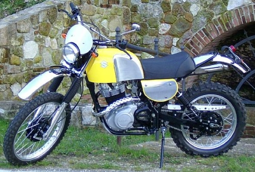 Suzuki DR 500 1982